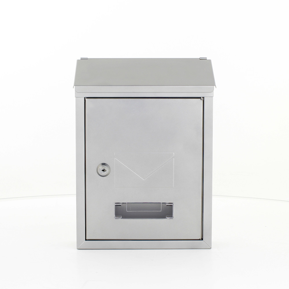 UDINE Silver Letterbox